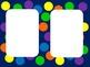 Blue Polka Dot Signs