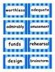 Reading Street Amazing Words Unit 1-Grade 3 (Blue Striped)