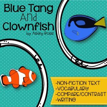 Blue Tang Fish and Clownfish - Unit Study