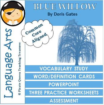 Blue Willow Vocabulary Activities/Common Core Aligned
