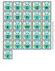 Blue and Green Owl Alphabet Matching Activity