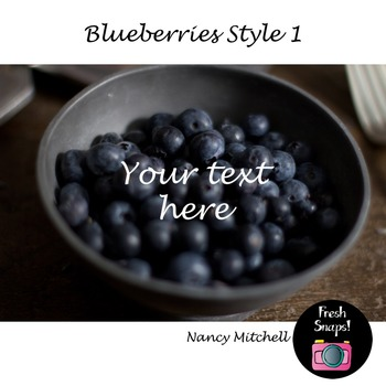Blueberries Style 1