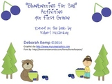 """""""Blueberries for Sal"""" Activities for First Grade"""