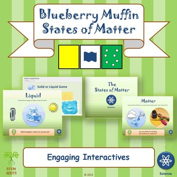 Blueberry Muffins and States of Matter STEM/STEAM Lesson P