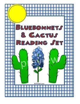 Bluebonnet and Cactus Reading Set