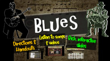 Blues: A comprehensive & engaging Music History PPT (links
