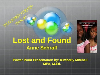 """Bluford Series """"Lost and Found"""" PowerPoint Presentation"""
