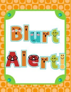 Blurt Alert