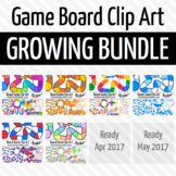 Board Game Clip Art - Growing Bundle!