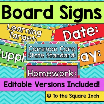 Board Signs
