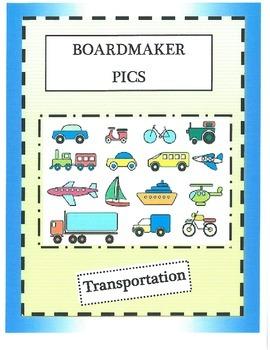 Boardmaker Pictures-transportation