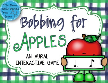 Bobbing for Apples Aural Interactive Game {Tom Ti}