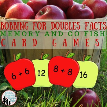 Bobbing for Doubles Facts {Card Games for Addition Fluency}