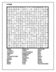 Boda (Wedding / Marriage in Spanish) crossword and wordsearch