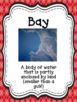 Bodies of Water Posters---14 Argyle Print Posters