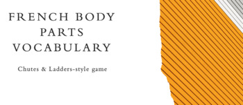 Body Parts Vocabulary : Chutes and Ladders-style Game