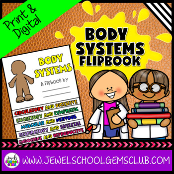 Human Body Systems Activities (Human Body Systems Flipbook)