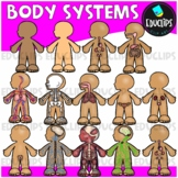 Body Systems Clip Art Bundle