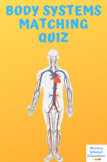 Body Systems Matching Quiz 11 Questions total