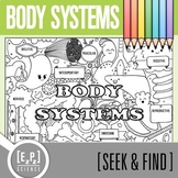 Body Systems Seek & Find Doodle Page