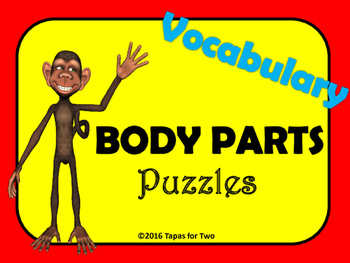 Body parts Vocabulary Puzzle Game