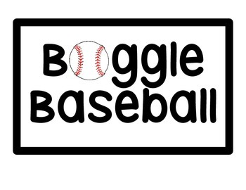 Boggle Baseball Letters