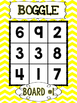 BOGGLE Math {Primary Chevron Edition}