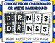 Boggle - Retro Chalkboard Packet - Bulletin Board Set - Li