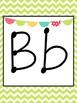 Boho Bird Theme ABC cards