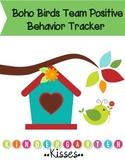 Boho Birds Behavior Management- Team Tallies