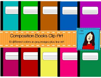 Bold Composition Notebooks