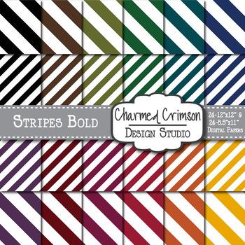 Bold Stripes Digital Paper 1065