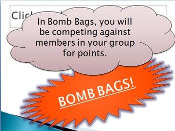 Bomb bags- Air and Weather