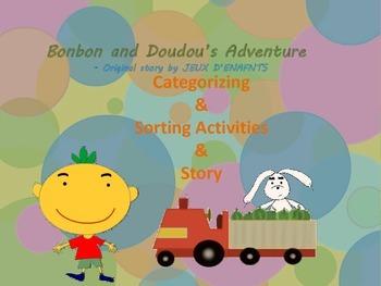 Bonbon & Doudou's Adventure (story, categorization & sorti