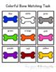 Dog Bone Color Matching Folder Game for Early Childhood Sp