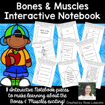 Bones & Muscles Interactive Notebook