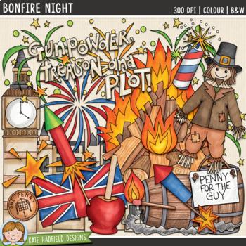Bonfire Night Clip Art