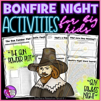 Bonfire Night Activities: Gun Powder Plot / Guy Fawkes Nig