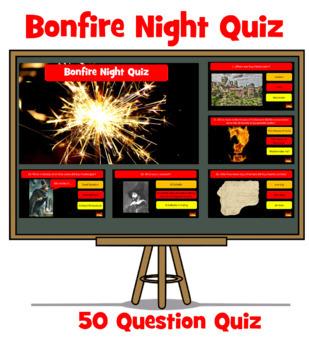 Bonfire Night Quiz - 50 Questions