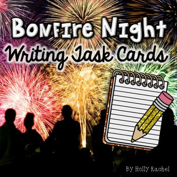 Bonfire Night Writing Task Cards