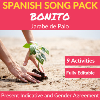 Bonito by Jarabe de Palo: Spanish Song to Practice the Pre