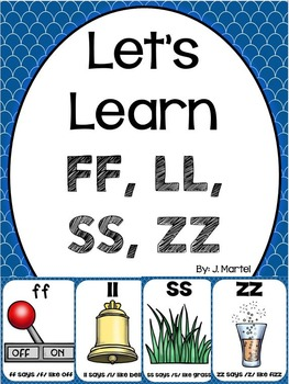 Double Consonant Letter Rule (a pack practicing ff, ll, ss