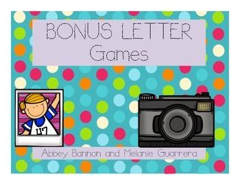 Bonus Letter Games