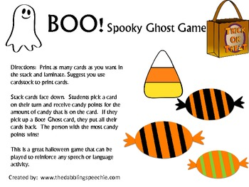 Boo! Spooky Ghost Game
