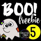 Boo Freebie #5 {Creative Clips Digital Clipart}