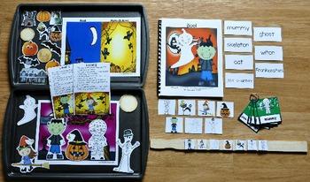 "Halloween Adapted Books Unit--""Boo!"""