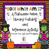 Boo!  What Am I?  A Halloween Online Library Catalog and I