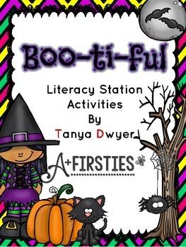 Boo-ti-ful Literacy Stations