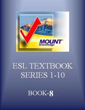 Book 8: English Grammar Workbooks from Level 1 to Level 10