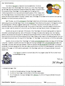 Book Bag- Honesty/Trustworthiness Theme